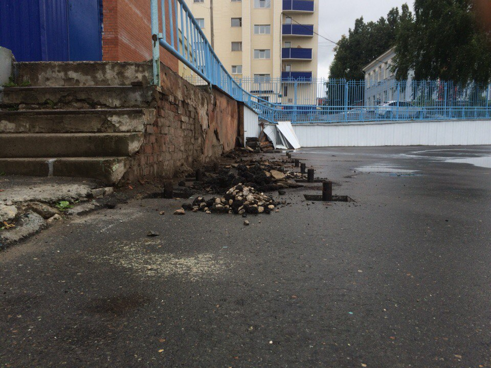 Фундамент на винтовых сваях на стадионе Динамо