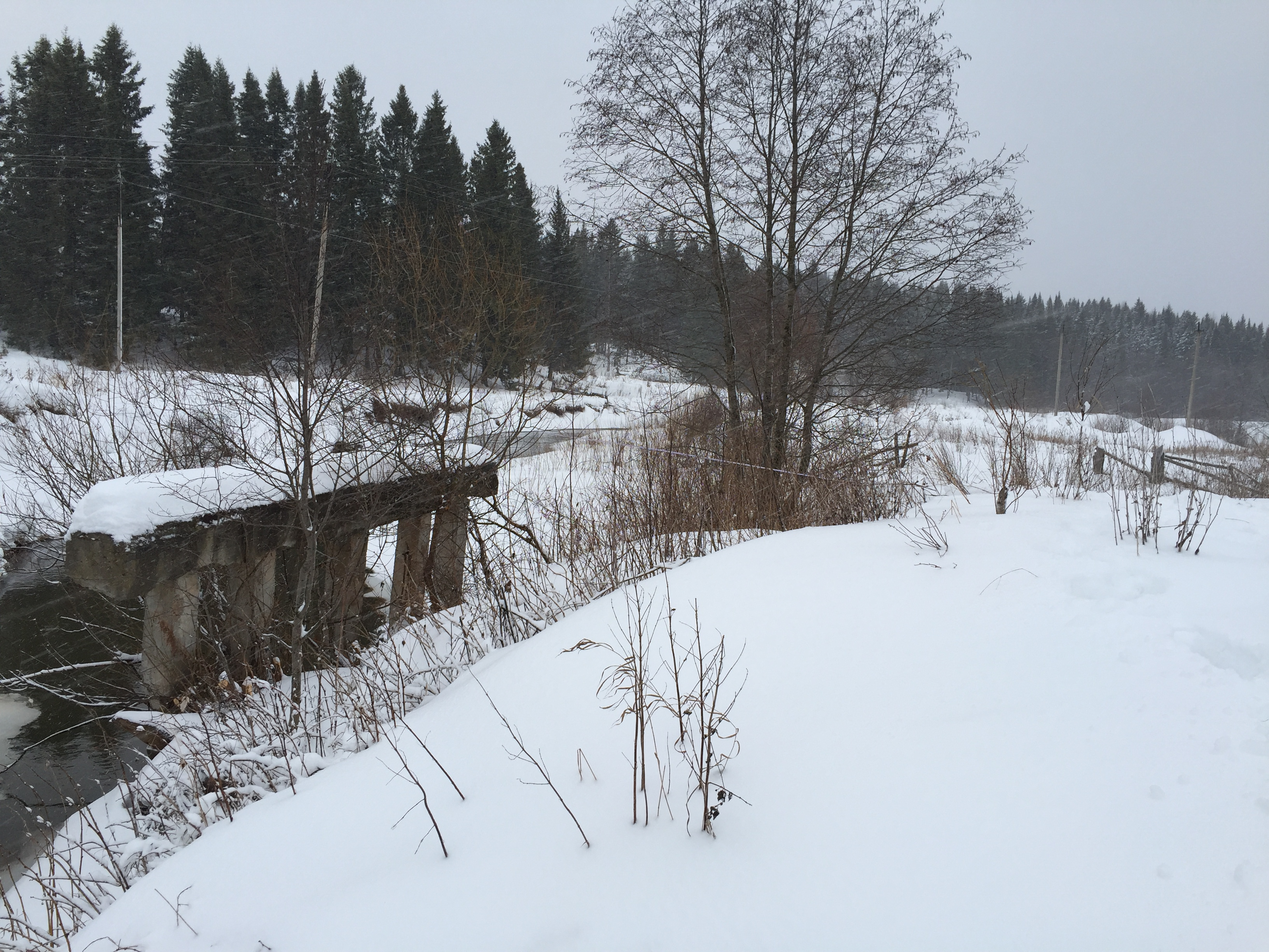 Строительство моста на винтовых свая Пермь