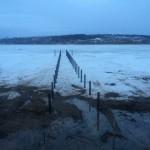 Пирс на винтовых сваях в Ильинском