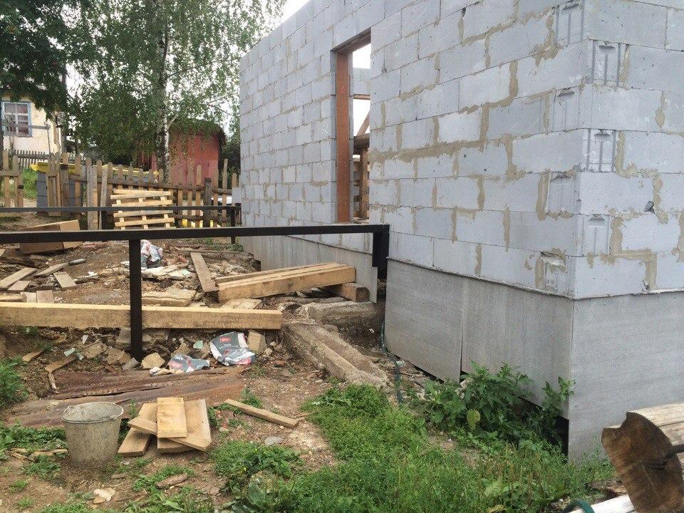 винтовой фундамент для дома из газобетона